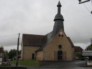 die Kirche von Saint-Germain-Baupre