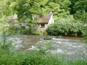 alte Mühle an der Sédelle