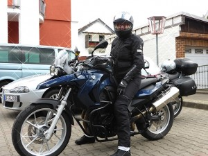 Motorradtour Parkplatz